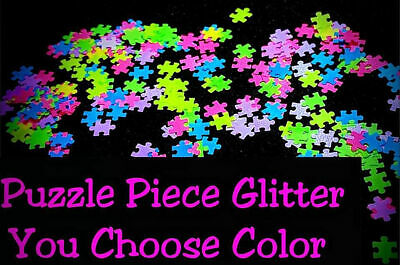Puzzle Piece Shape Glitter U Pick Nail Acrylic Gel Body Art Face Festival Craft Ebay