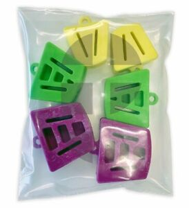 Assorted-Sizes-Autoclave-Mouth-Silicone-Props-Bite-Blocks-Dental-Bag-of-6