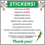 1-NO-SOLICITING-Sign-Sticker-Business-Window-Door-Decal-Store-1-5-034-x5-5-034-NEW thumbnail 4