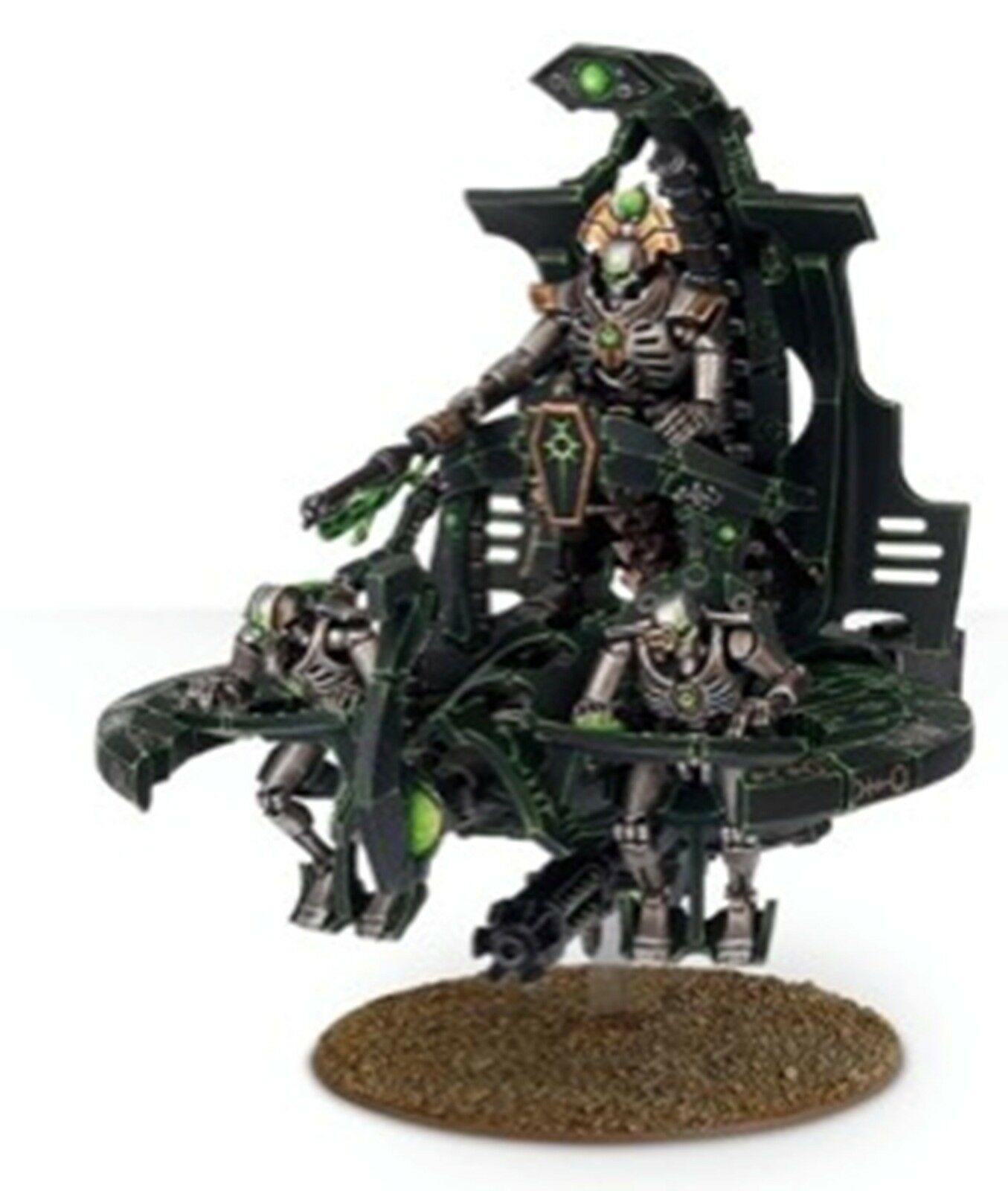 NEW WARHAMMER 40K NECRON CATACOMB COMMAND BARGE ANNIHILATION BARGE GW-NEC-4912