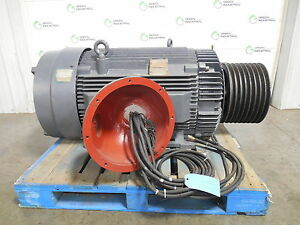 Rebuilt 350 hp reliance electric xex motor 6325307 frame for Who rebuilds electric motors
