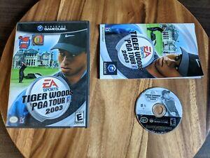 Tiger-Woods-PGA-Tour-2003-CIB-amp-Tested-Nintendo-GameCube-2002