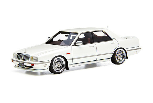 Ignition model 1 43 Nissan Gloria Cima Y31 Pearl bianca Resin model From Japan