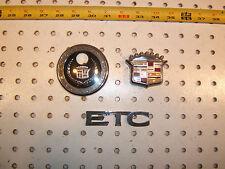 Cadillac 1995 Eldorado ETC rear deck lid /Grille plastic OEM 1 set of  3 Emblems