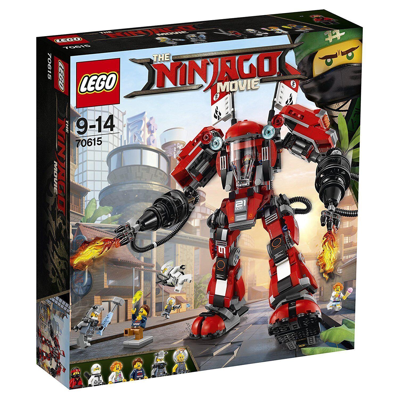 LEGO Ninjago Movie 70615 Fire Mech - Brand New