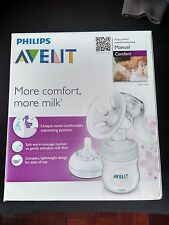 Brand new in sealed box. Avent Manual Comfort Breast pump