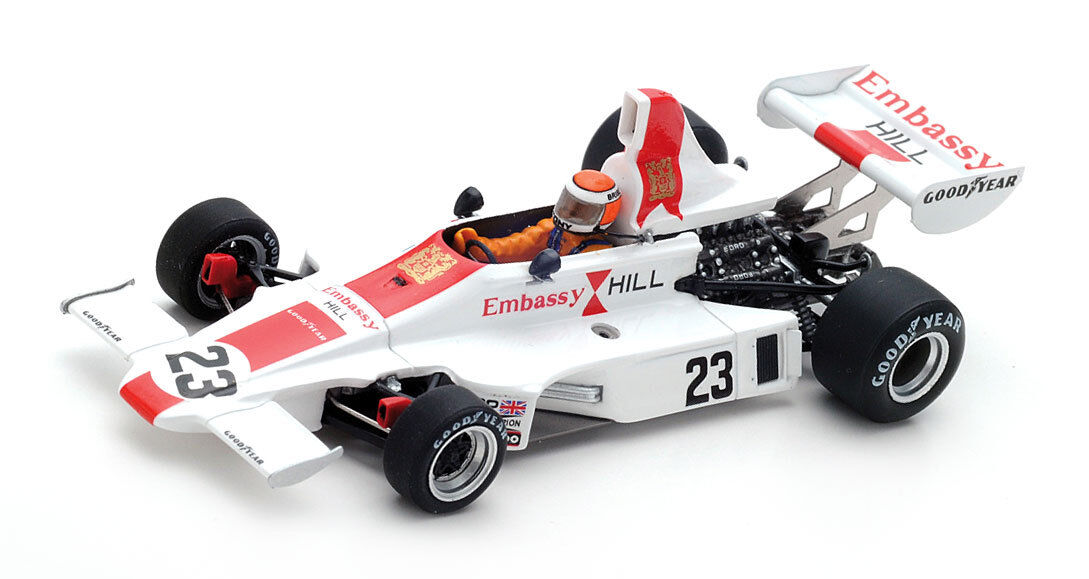 SPARK s5673 Hill gh1  23 6th Swedish GP GP GP 1975-Tony Brise 1 43 Scale 596534