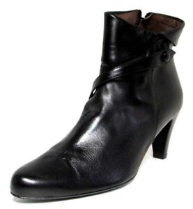 bb2b43908aea BOTTINES 40 cuir noir souple talon revers bride DERNIERE VERSION ...