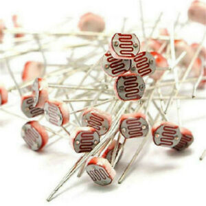 20PCS-Photoresistor-LDR-CDS-5mm-Light-Dependent-Resistor-Sensor-GL5516-Arduino