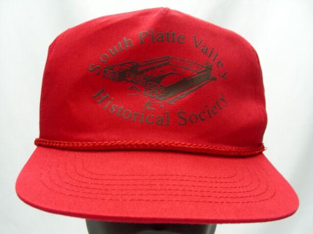 SOUTH PLATTE VALLEY - HISTORICAL SOCIETY - ADJUSTABLE SNAPBACK BALL CAP HAT!