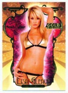 2007 Bench Warmer Gold Edition Lisa Gleave Carte LG-2