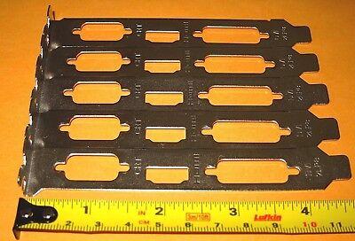 """4.75/"""" Full Height Size Length Bracket for Desktop Video Graphics VGA Card 120mm"""