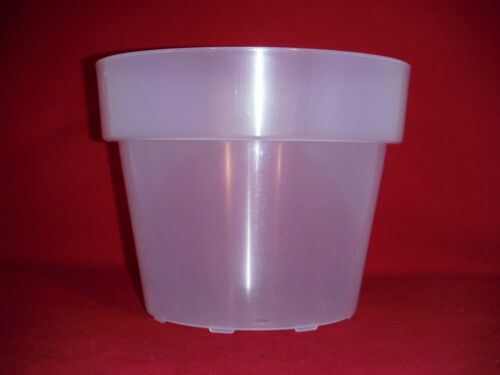 5 8.5CLUV premium 8.5 inch translucent clear plastic orchid pots extra large