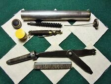 COMPLETE, ORIGINAL USGI, BUTTSTOCK CLEANING KIT, FOR EARLY WWII, M1 GARAND,