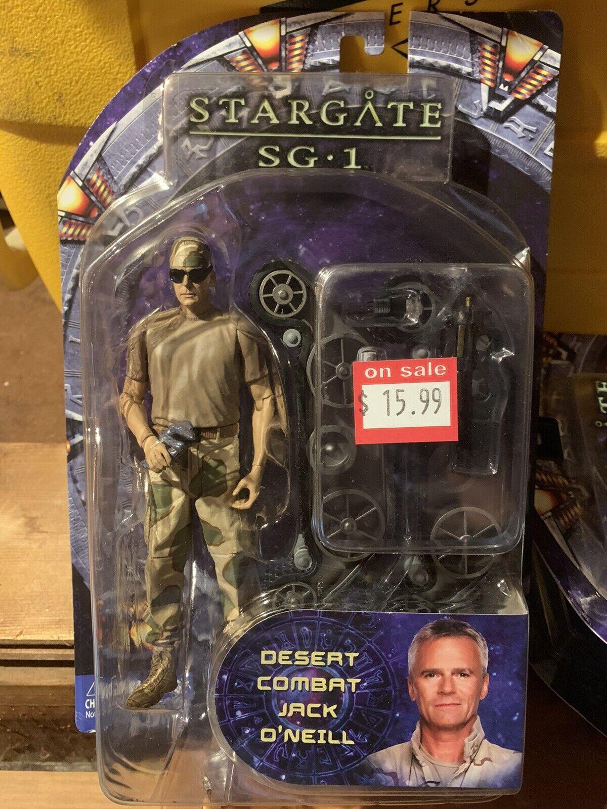 estrellagate SG1 Desert Combat Jack O'Neill Diamond Select azione cifra Series 4