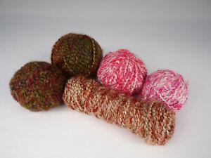 Lion-Brand-Homespun-Yarn-Lot-Fun-Colors-Bulky-Craft-Weight-Acrylic-Total-14-6oz