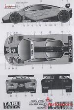 1/24 1996 McLaren F1-GTR Suzuka TBF #8 decal set by Tabu Design ~ 24052