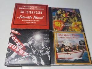 9x-DIE-TOTEN-HOSEN-entartete-musik-DAMENWAHL-live-CRASH-LANDING-TOPCONDITIONS
