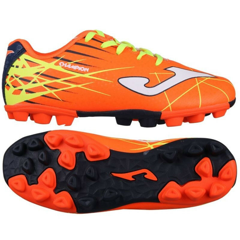Joma shoes Calcetto Junior - Champion JR 808 orange Rubber 24