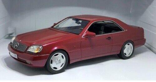 Mercedes-Benz 600SEC C140 rot met. 1992 1 18 Cult Scale Models