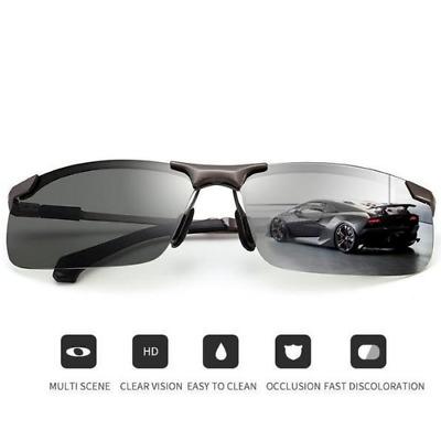 ZYC Men's Photochromic Sunglasses with Polarized Lens 100% UV For Outdoor