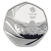 UK CHEAPEST 50p Olympic Coin,Triathlon,JEMIMA,JUDO,WWF, KEW GARDENS! OffsideRule