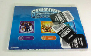 Skylanders-Spyro-039-s-Adventure-New-Sealed-Pack-Spyro-Trigger-Happy-Gill-Grunt