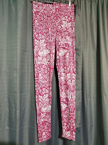 Blackmilk Pink And White Brer Rabbit Leggings M