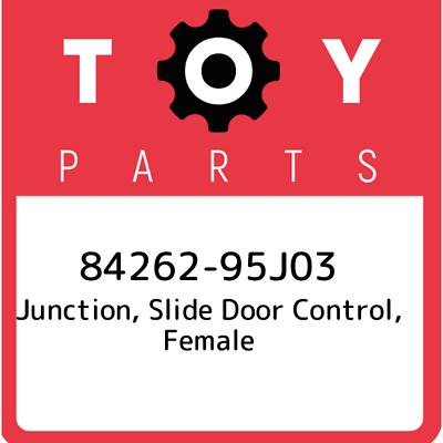 8426295J03 Genuine Toyota JUNCTION SLIDE DOOR CONTROL FEMALE 84262-95J03