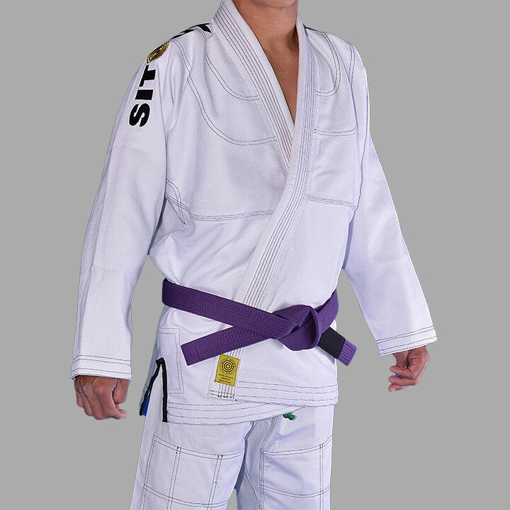 1st Edition BJJ Gi by SitOut Sports - White   best sale