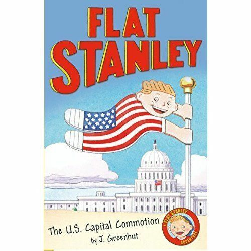 1 of 1 - Jeff Brown's Flat Stanley: The Us Capital Commotion-ExLibrary