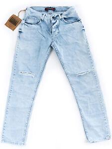 Serseri-Herren-Jungen-Kinder-Boys-Designer-Jeans-Hose-Slim-Fit-W28-L30