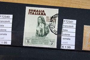 FRANCOBOLLI-ITALIA-COLONIE-SOMALIA-USATI-F72341