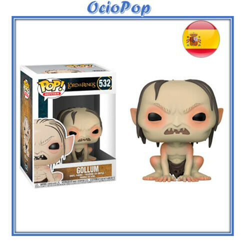 s l1600 - Pop Movies! Funko Pop Gollum #532- El Señor de los anillos figura pop
