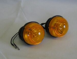 Series-amp-Defender-Land-Rover-Pair-of-Indicator-lamp-Assy-WIPAC-LSL005
