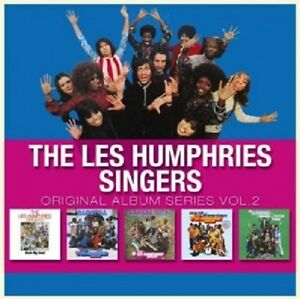 LES-HUMPHRIES-SINGERS-ORIGINAL-ALBUM-SERIES-VOL-2-5-CD-NEU