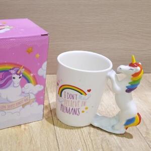 Unicorn Cup 3D Ceramic Coffee Mug