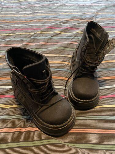 Demonia Women's Stomp-10 Platform Boots