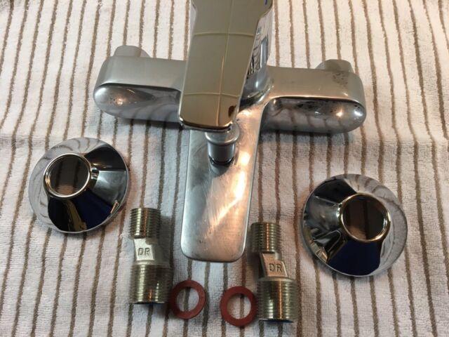 Hansa Einhand-Wannen-Batterie Hansapolo AP ohne Brausegarnitur verchromt 5144219