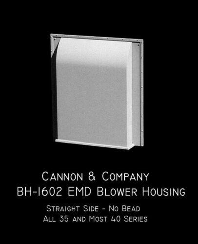 Straight No bead   MODELRRSUPPLY Cannon /& Company BH-1602 EMD Blower Housing