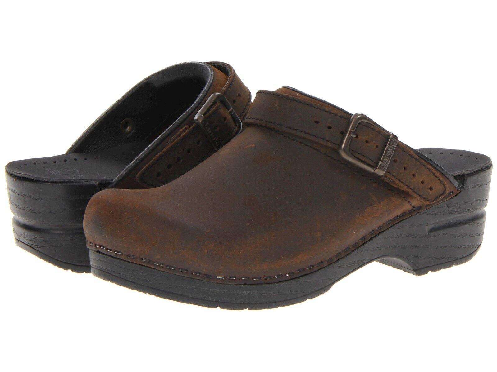 marca Donna  Dansko Ingrid Clogs Marrone Antique Marrone Oiled Oiled Oiled Leather  vanno a ruba