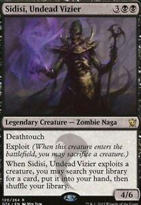 Undead Vizier FOIL MTG Magic the Gathering DTK Dragons of Tarkir 1x Sidisi