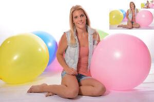 1x-60cm-24-034-190er-Riesen-Luftballon-1x-24-034-Riesen-Ballon-BUNT-weich