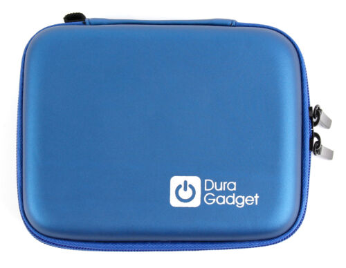 Caso de cáscara Azul Rígido Con Clip De Cinturón Para Panasonic Lumix DMC-Z48 FT20 G3 L10