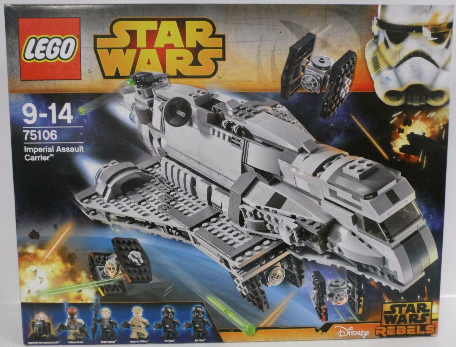 NEUF  LEGO ® ® ® star wars ™ 75106 Imperial Assault Carrier ™  OVP 47d9bb