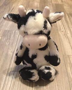 jelly cat london cow plush stuffed crib car seat toy