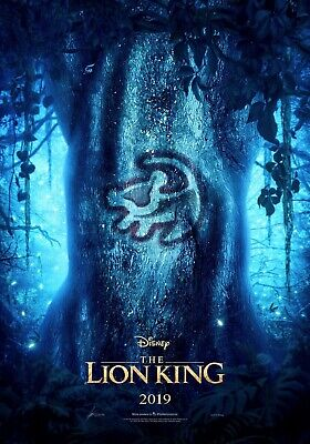 New The Lion King Poster 2019 Movie 24 X 36 2 For 23 Ebay