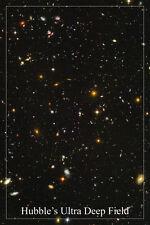 HUBBLE'S ULTRA DEEP FIELD space image poster 24X36 GALAXIES stars SUPERNOVA