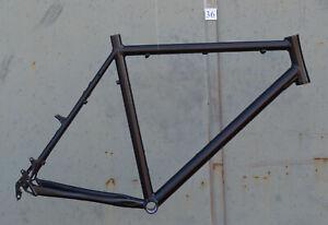 Grosser-Mountainbike-Rahmen-58-cm-Alu-schwarz-matt-26-034-Disc-amp-V-Brake-NR036