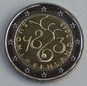 2 Euro Finlande 2013 150 Ans Parlement Unz.-afficher Le Titre D'origine
